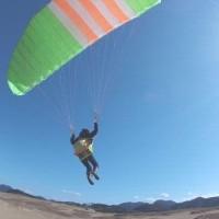 鳥取砂丘パラグライダー体験