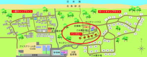 案内地図 バンガロー位置