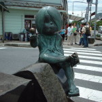水木しげるロードの鬼太郎